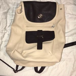 Handbags - Black and Tan mini backpack